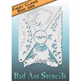 First Class Bad Ass Stencil 2006 Fairy